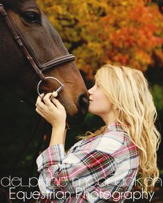 Horse love <3 I love to capture the relationship between a girl and her horse :)