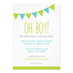 Baby Shower Invitation Letter Entrancing Cutout Letters Baby Shower Invitation  Boy  Shower Invitations