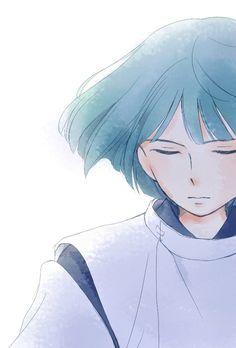 Spirited Away - Haku - honestly. I had a crush on haku when i was small( Studio Ghibli Films, Art Studio Ghibli, Hayao Miyazaki, Girls Anime, Anime Guys, Anime Films, Anime Characters, Totoro, Personajes Studio Ghibli