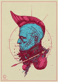 "spassundspiele: ""Yondu Udonta – Guardians of the Galaxy fan art by Bogdan Timchenko """