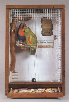 """Joseph Cornell shadowbox """"The Caliph of Bagdad"""" about 1954 Collages, Collage Art, Joseph Cornell Boxes, High School Art, Assemblage Art, Box Art, Art Boxes, Shadow Box, Ceramic Art"""
