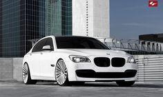 Lexani Wheels, the leader in custom luxury wheels. Custom LZ-722 on the 2013 BMW 750.
