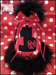 Custom Lady Bug First Birthday Hat For A Tutu Sassy Princess Super Adorable October