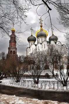 Novodevichiy Nunnery, Moscow, Russia
