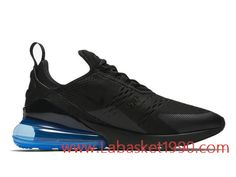 reputable site d3dc1 963bf Nike Air Max 270 Photo Blue AH8050-009 Chaussures Nike 2018 Pas Cher Pour  Homme