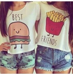Soo cute best friend t shirts