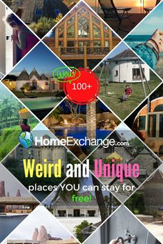Castles, log homes, round houses, historic mills and exotic locations. You'll love this collection of homes where you can stay for FREE! Over 100 unique Home Exchange experiences. Home Exchange, Round House, Log Homes, Castles, Travel Photos, Travel Inspiration, Exotic, Around The Worlds, Houses