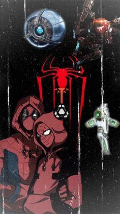 Fait par moi avec Spider-man, Deadpool, Apex Legends, Titanfall2 et Destiny 2 Deadpool, Spiderman, Destiny, Legends, Darth Vader, Fictional Characters, Spider Man, Fantasy Characters, Amazing Spiderman