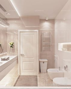 Beautiful bathroom decor tips. Modern Farmhouse, Rustic Modern, Classic, light and airy master bathroom design tips. Bathroom makeover some ideas and master bathroom renovation ideas. House Design, House, Modern Bathroom Design, Bathroom Layout, Bathroom Interior, Bathroom Renovations, Home Interior Design, Bathroom Design Luxury, Bathroom Decor