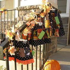 Adorable Halloween skirts for girls