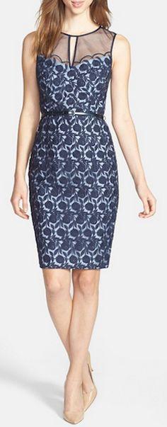 Pretty organza lace dress http://rstyle.me/n/ecx82nyg6