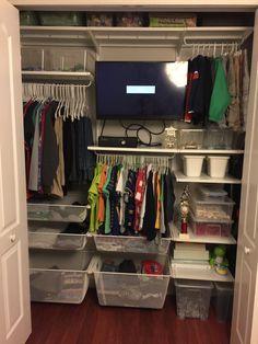 IKEA Algot Closet Remodel For Boys Shared Room