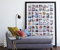 DIY Photo Board | photo Kim Jeffery | House & Home