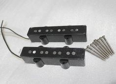 For sale; Jazz Bass Alnico V Pickup Set Pair (Neck and Bridge) 4 string.Description;Great sounding pickups with good tone and hotter bridge pickup. Includes 8 pickup mounting screw.Neck ; 7.93K , Bridge ; 8.46KPayment Policy:PAYPAL Payment must be received within 2 days ofsale close, or Item will be relisted.Please contact us first if you need to file an Extension for any Payment.Shipping Policy:'This ITEM Shipped using Economic'.After Purchase, Please COMPLETE PHONE NUMBER on SHIPPI...