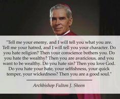 Archbishop Fulton Sheen   Awestruck Catholic Social Network