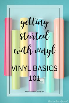 Attention all crafters! If you have a Cricut or Silhoette cutting machine you … Attention all crafters! If you have a Cricut or Silhoette cutting machine you will want to know all about Vinyl. Craft vinyl is a versatile craft supply Inkscape Tutorials, Cricut Tutorials, Cricut Craft Room, Cricut Vinyl, Craft Rooms, Cricut Air, Vinyl Art, Mason Jar Diy, Mason Jar Crafts