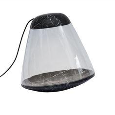 La Chance Apollo Marble Floor Lamp - Black   Marble Floor Light at beut.co.uk - £1,624