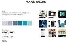 Image result for graphic designer mood board