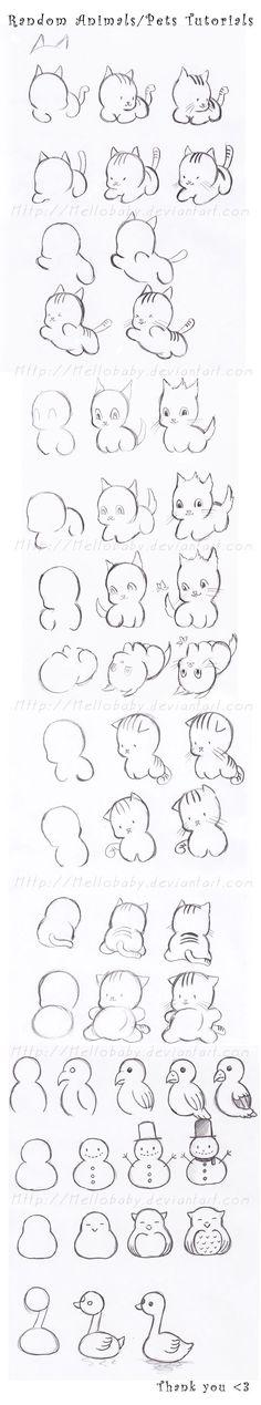 How to Draw a Manga Kawaii Girl   Today's Craft and DIY ...