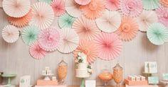 Rosetas para decorar tu boda