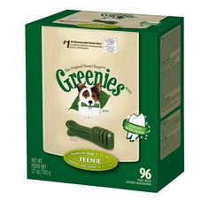 Amazon.com: Greenies Dental Chews for Dogs, TEENIE, FOR HENRY Pack of 27: Pet Supplies