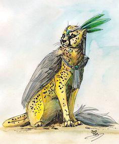 Een cheeta Chet