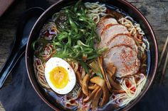 Lush pork, toothsome noodles, and a heady broth you can't stop slurping—it's no wonder ramen joints are drawing droves of diners, off-duty chefs, and seemingly everyone on your Instagram feed. Bringing shoyu ramen home takes a trip to an Asian market, three days of work, and your largest pot, but this low-stress (really!) labor         of love might be the best soup you'll ever make.