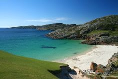 The beach of Achmelvich arguably one of Britain's most stunning beaches British Isles, Beach Fun, About Uk, Kayaking, Britain, Scotland, Places To Visit, Coast, Kayaks