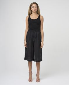 LIFE TROUSERS - JET BLACK - New In - £60