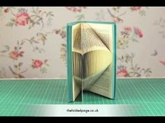 fold book pages into a heart - Google Search
