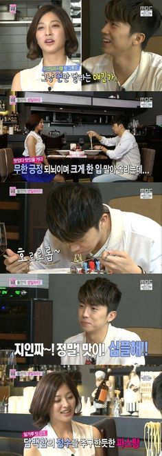 Park Se Young cooks Wooyoung a birthday meal on 'We Got Married' | http://www.allkpop.com/article/2014/05/park-se-young-cooks-wooyoung-a-birthday-meal-on-we-got-married