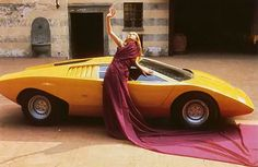 Another publicity shot of the futuristic Lamborghini Countach Prototype ... - LGMSports.com