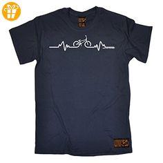 Ride Like The Wind Herren T-Shirt, Slogan Gr. XL, navy - Shirts mit spruch (*Partner-Link)