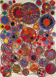 atsuko tanaka《地獄門》 1965-69年  所蔵・写真提供:国立国際美術館 (c) Ryoji Ito