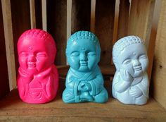Budas bebé en colores