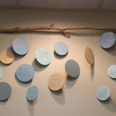 Another beautiful way to display hopes and dreams from Rosa Parks ECEC! Reggio Inspired Classrooms, Reggio Classroom, Classroom Displays, Preschool Classroom, Classroom Decor, Kindergarten, Preschool Lessons, Lessons For Kids, Open House Night