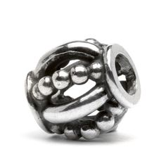 Trollbeads Royal: This decorative bead has a pattern reminiscent of a king's crown or the intricate decorations on a royal scepter Original Price: $44.00 Sale Price: $26.40