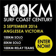 Entries are now open to the 2016 Surf Coast Century the 5th edition of this incredible event. This spectacular 50km and 100km ultra marathon is perfectly suited to all levels of runners including those tackling their first ultra. The course is challenging yet achievable logistics are easy and the event vibe is very supportive. This is a beautiful run in a beautiful part of the world and we welcome you to be part it. #surfcoastcentury #trailrunning #ultramarathon #greatoceanroad…