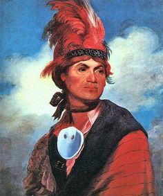 Joseph Brant (Mohawk chief) by Gilbert Stuart 1786 Native American Tribes, Native American History, American War, Mohawk People, Joseph Brant, Mohawk Indians, Gilbert Stuart, American Revolution, First Nations