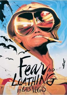 Fear and Loathing in Las Vegas. watched this movie the other day. forgot how wild it is.