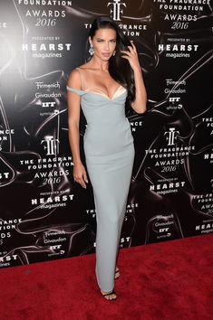 Adriana Lima - Best Dressed at the 2016 Fragrance Foundation Awards - Photos                                                                                                                                                      More