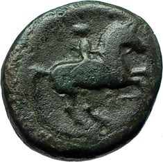 Philip II 359BC Olympic Games HORSE Race WIN Macedonia Ancient Greek Coin i66605