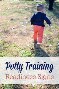 Before diving headfirst into potty training your toddler, check to see if they have these common potty training readiness signs.
