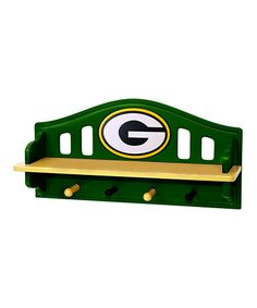Take a look at this Green Bay Packers Peg Shelf by Fan Creations on #zulily today!