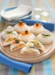 Tramezzini raviolati Una ricetta sfiziosa da proporre per un buffet o un aperitivo