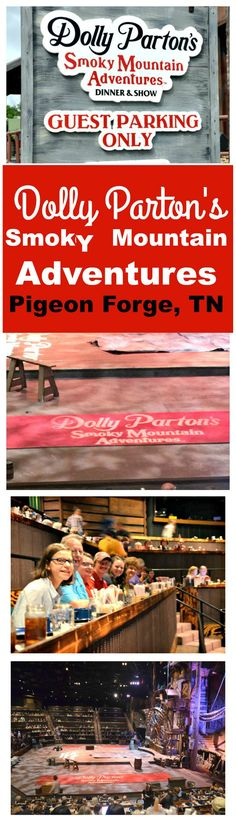 DOLLY PARTON'S SMOKY MOUNTAIN ADVENTURES IS NEW Do you have vacation plans to Pigeon Forge, Tennessee?  Do not miss Dolly Parton's new dinner show Smoky Mountain Adventures.  From the time the show begins to the end, it is high energy adventures with constant singing, dancing, trampoline jumping, tumbling, not to mention people flying all over the place over your head.  Not only will you see a terrific show but the food is delicious.  SEE FULL REVIEW HERE…