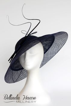 Bellinda Haase Millinery offers couture hats and fascinators for the races 44d499b910a