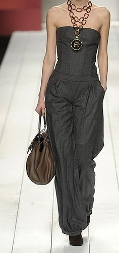 runway jumpsuit fashion ✤ | Keep the Glamour | BeStayBeautiful