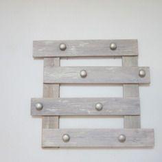 Porte manteaux en bois de palette decorécup