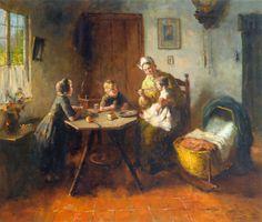 Bernard de Hoog, Feeding the Little Ones
